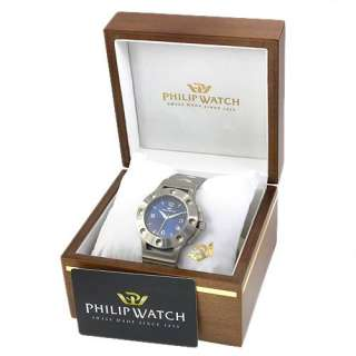 PHILIP WATCH r8253184035 Date Swiss Movement Water Resistant Mens
