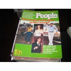 People Weekly Magazine (LInda Ronstadt & Jerry Brown