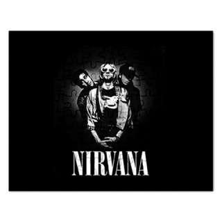 Kurt Cobain Nirvana Jigsaw Puzzle Rectangular Gift