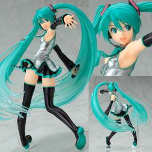 Miku Hatsune Tony version Vocaloid 1/7 PVC japanese anime Figure MAX