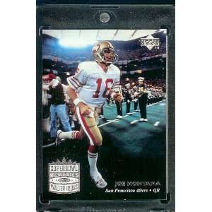 1997 Upper Deck Legends # 205 Joe Montana San Francisco 49ers Football