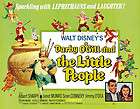 Gill and the Little People (1959) Sean Connery movie poster print