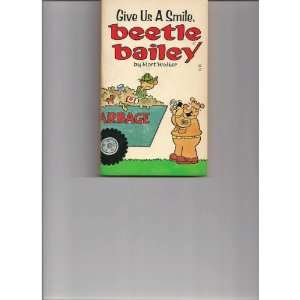 Give Us a smile, Beetle Bailey Mort Walker Books