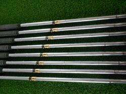 TAYLORMADE 300 SERIES FORGED IRONS 3 PW IRONS DYNAMIC GOLD STIFF +1