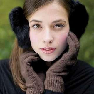 100% cashmere ladies gloves by eskimo