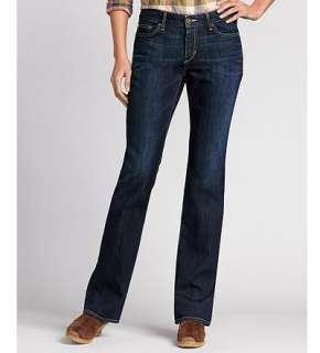Eddie Bauer Women Jeans by Fit Curvy Fit Curvy Fit Boot Cut Jeans