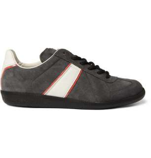 Maison Martin Margiela Suede Low Top Sneakers  MR PORTER