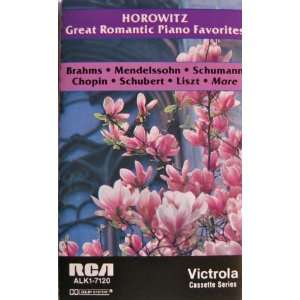 Great Romantic Piano Favorites Vladimir Horowitz Music