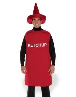Costumes / Ketchup Adult Unisex Costume