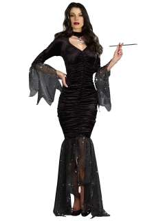 TV / Movie Costumes Addams Family Costumes Mysterious Mistress Costume