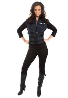 Sexy SWAT Girl Costume   Womens Sexy Police Officer Costume Ideas