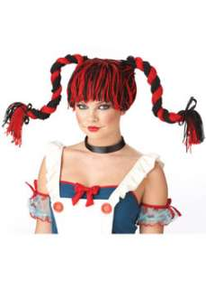 Cheap Braids & Ponytails Wigs Halloween Costume for Hats, Wigs & Masks