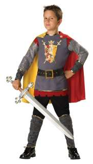 Kids Deluxe Loyal Medieval Knight Costume   Knight Costumes