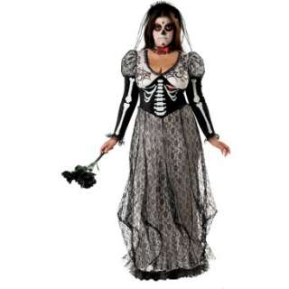 Day Of The Dead Bride Adult Plus Costume, 68998