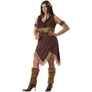 Halloween Costumes Sexy Indian Princess Adult Plus Costume