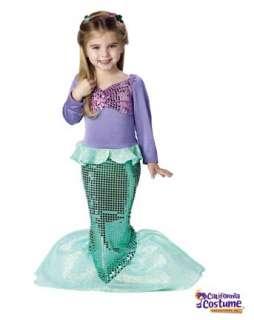 Lil` Mermaid Toddler  Wholesale Mermaids Halloween Costumes for