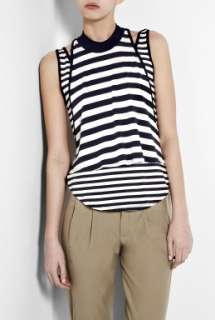 Elizabeth and James  Nima Double Layer Breton Tank by Elizabeth and