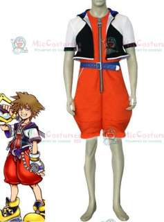 Kingdom Hearts Sora Cosplay Costume for Sale