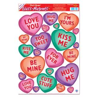 Candy Heart Clings     1636869