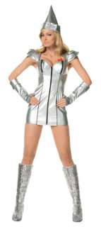 Adult Sexy Tin Lady Costume   Sexy Wizard of Oz Costumes   15UA83182