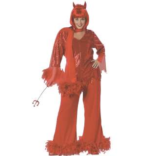 Red Hot Mama Plus Adult Costume   This fabulous costume includes a