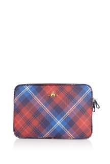 Vivienne Westwood Accessories  Winter Tartan 15 Laptop Bag by