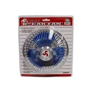 6 Auto Oscillating Car Cab RV Clip Fan (2 Speed Settings