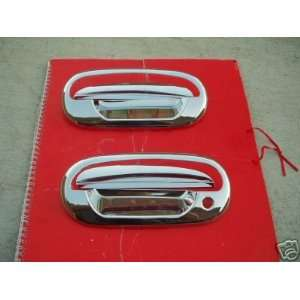 Mirror Polish Chrome Door Handle Cover   Ford F150 97 03 (Driver Side