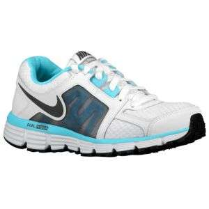 Nike Dual Fusion ST2   Womens   Running   Shoes   White/Tide Pool