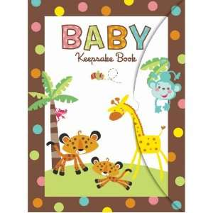 Fisher Price Baby Shower Keepsake Book Party Supplies  Toys & Games