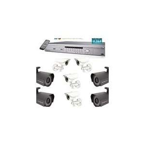Channel Standalone DVR Video Security Package System: Camera & Photo