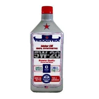 TEXAS TEA Motor Oil   10W 30   100% Synthetic  6/1 Quart