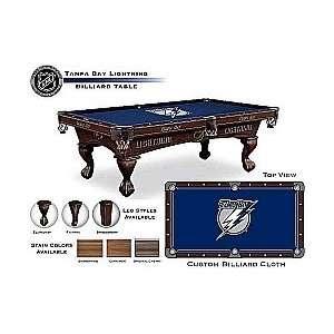Tampa Bay Lightning HBS Billiard Table
