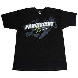 Pro Circuit Monster Moon Walker T Shirt   Large/Black Automotive