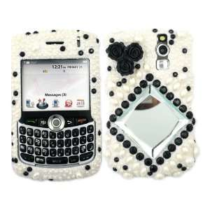 Mirror Bling Rhinestone Faceplate Diamond Crystal Hard Skin Case Cover