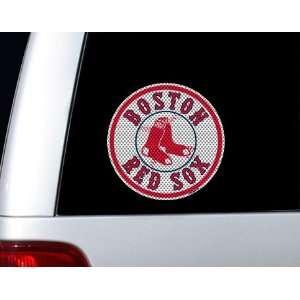 Boston Red Sox Car Window Graphic Die Cut Film Automotive