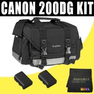 Canon 200DG Digital Camera Gadget Bag (Black) for Canon EOS 60D 7D 5D