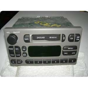 Radio  S TYPE 03 thru VIN M45254, receiver (AM FM stereo cassette), w