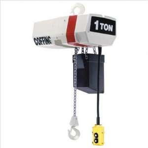 EC V Variable Speed Chain Hoists Style Wt. Cap.1 tons, Lifting Hgt