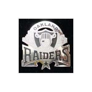 OAKLAND RAIDERS OFFICIAL LOGO COLLECTORS LAPEL PIN  Sports
