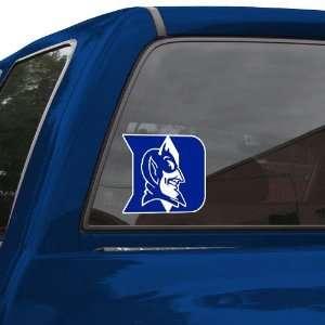 NCAA Duke Blue Devils 8 Color Team Logo Car Decal  Sports