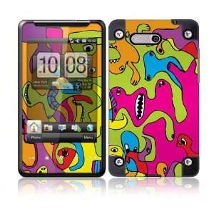 Color Monsters Protective Skin Cover Decal Sticker for HTC