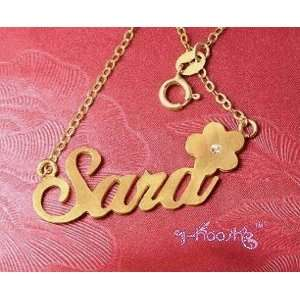 Personalized 18K Gold Plated Name Necklace Any Language