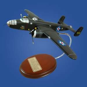 B 25 Mitchell Ruptured Duck Quality Desktop Wood Model