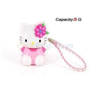 8GB 3D Kitty USB Flash Drives U Disk (Pink) Electronics