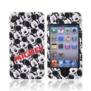 BLACK WHITE MICKEY For Disney iPhone 4 Hard Case Cover Electronics