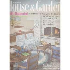 House & Garden November 1964 Gift Special Dominique
