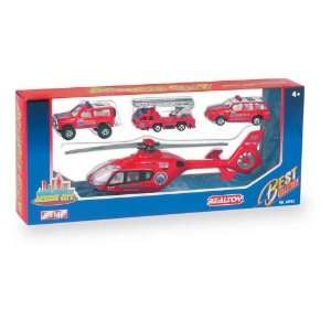 Action City Fire Helicopter/Ve: Toys & Games