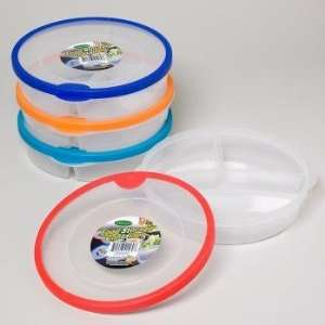 Round Plastic Food Storage Container Case Pack 48 Everything Else