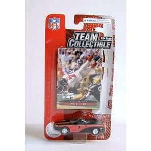 Atlanta Falcons 2003 NFL Diecast Ford Mustang Convertible Car